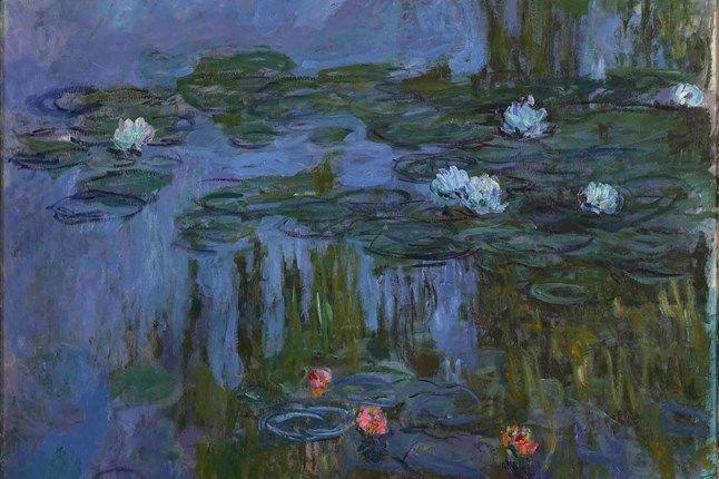 Painting the Modern Garden: Monet to Matisse at the Royal Academy - Art News (houseandgarden.co.uk)  Claude Monet, Nymphéas (Waterlilies), 1914-15