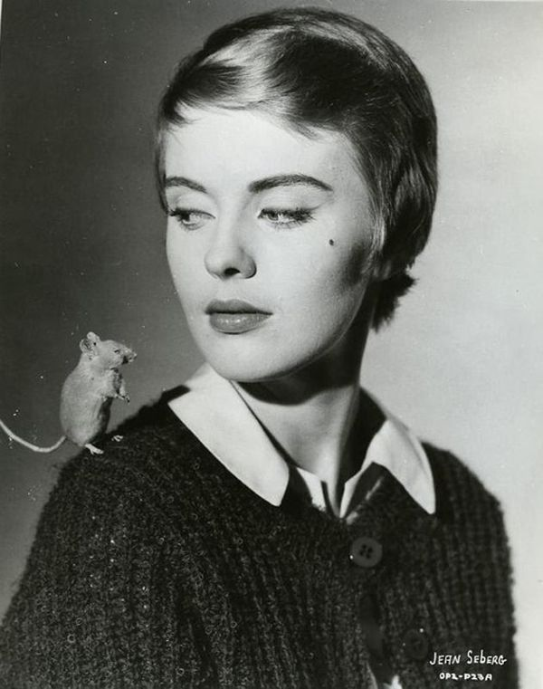 The fashion of Jean Seberg.