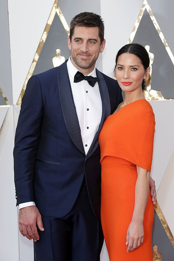 Olivia Munn & Aaron Rodgers Engaged? She Flashes Giant Diamond Ring — See Pic