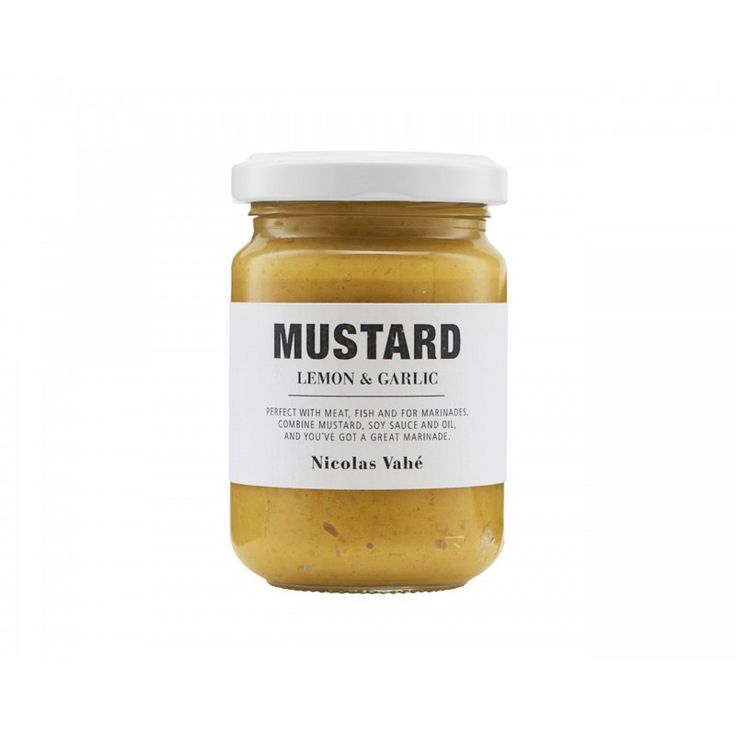 Mustard With Garlic and Lemon - 140 g