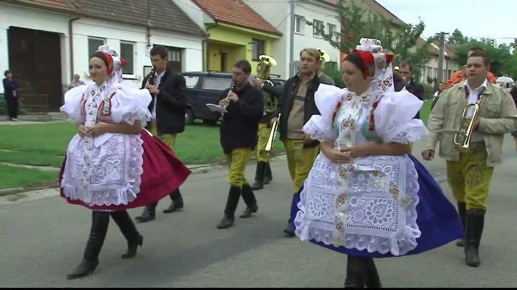 Hody Moravská Nová Ves 2011 - krátký sestřih