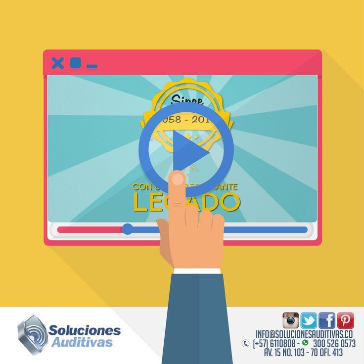 Dale play a nuestro vídeo que te invita a mejorar tu calidad de vida y a redescubrir tu audición http://bit.ly/1NN9k4F