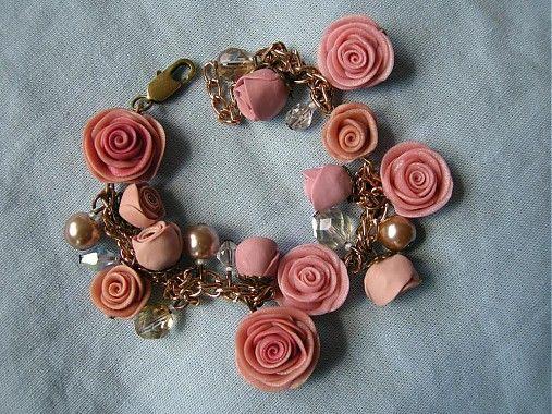 Náramok Vintage roses