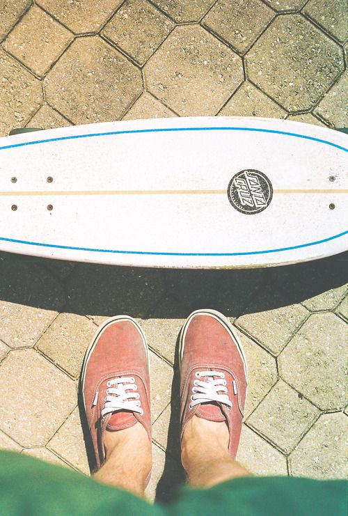 jump on Santa Cruz vans awesome skateboard or longboard or whatever the hell it is! Blue white orange red green colors