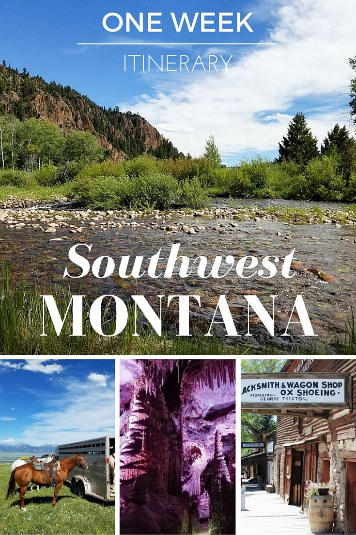 One Week Itinerary to Southwest Montana