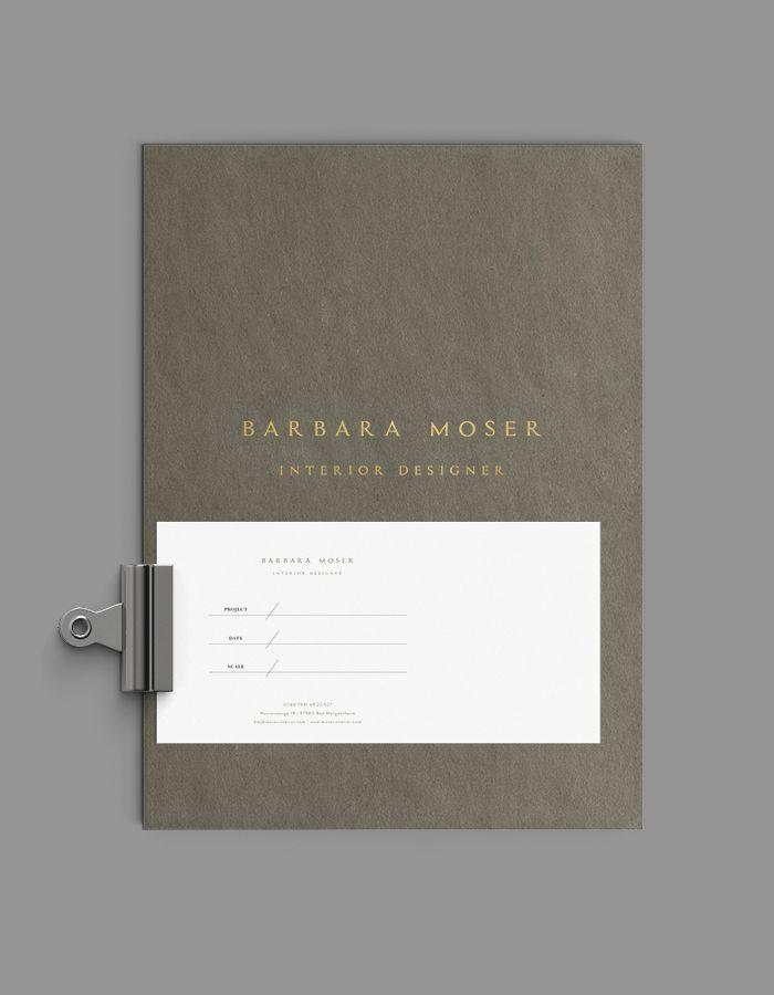 Brand Identity + Website Design for Barbara Moser