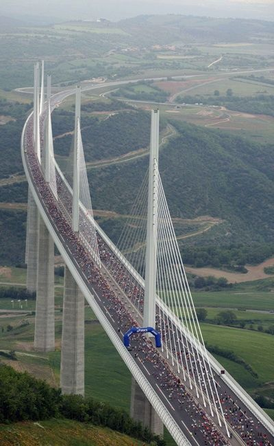Top 10 International Driving Routes, Millau Viaduct