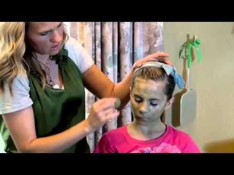 Trucco viso strega per bimba facilissimo - VideoTrucco