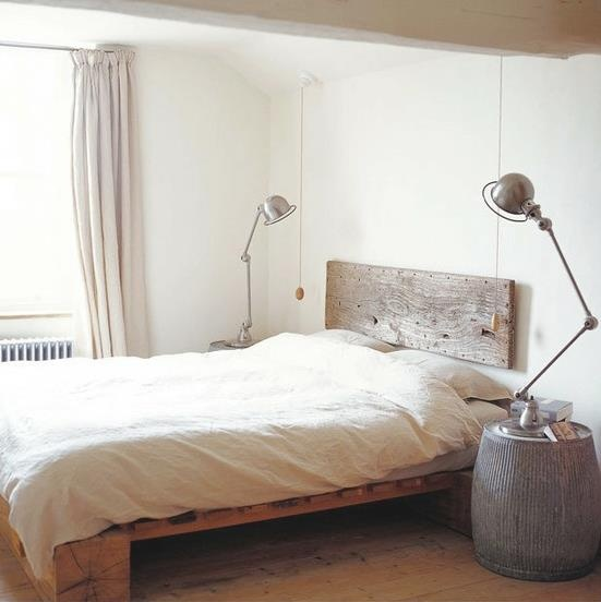 Bed - but I love the pull cords and the side tables...