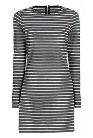 Stripe Ponte Tunic