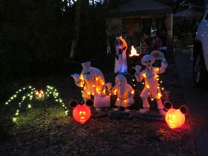 Celebrate Halloween at Disney's Fort Wilderness Resort & Campground - Golf Cart Parade, Campsite Decorations!
