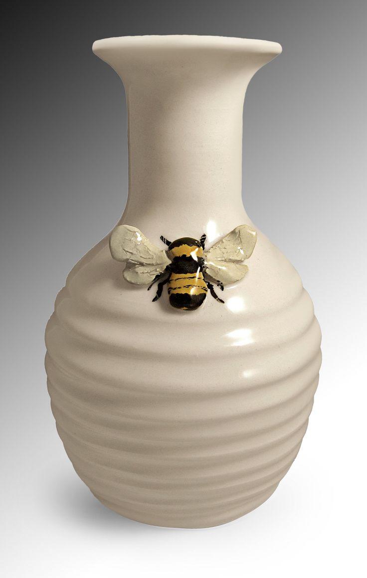 Best 25 ceramic vase ideas on pinterest pottery vase history bee vase by lisa scroggins ceramic vase reviewsmspy
