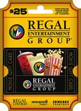 Regal Entertainment Group - $25 Gift Card - Multi