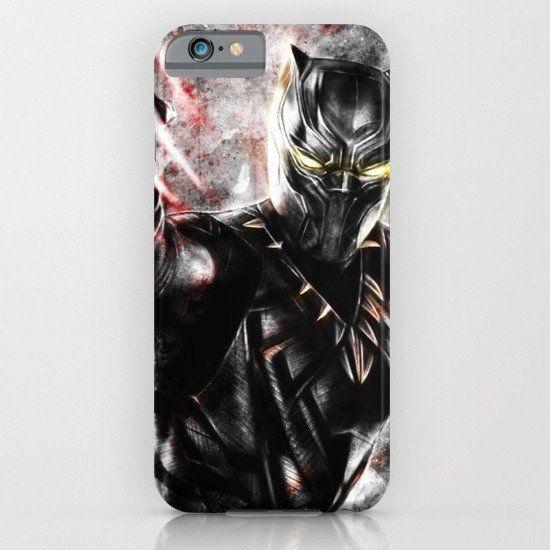 Black Panther Marvel iphone case, smartphone