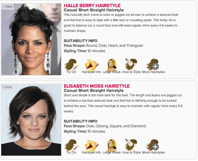 Wondrous 1000 Ideas About Virtual Hairstyles On Pinterest Virtual Hair Short Hairstyles Gunalazisus