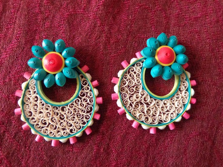 quilling earrings