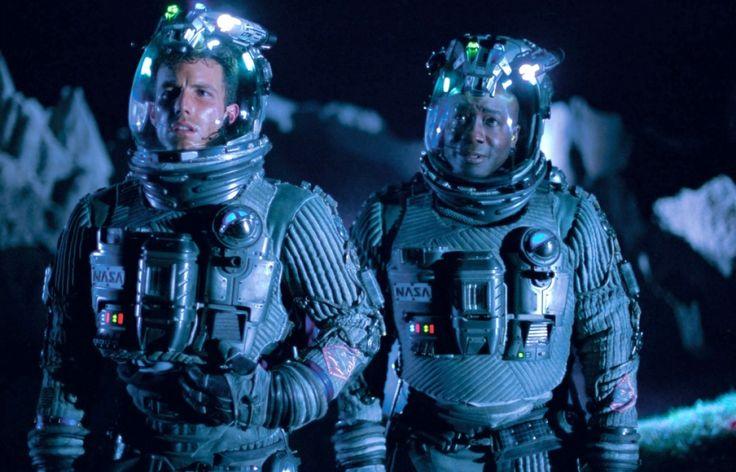 """Armageddon"" (1998) - Michael Clarke Duncan and Ben Affleck"
