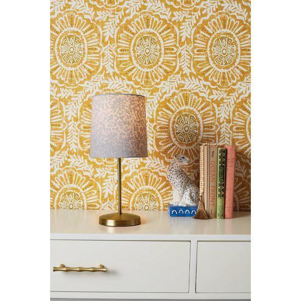 Madre Medallion Peel Stick Wallpaper Gold Opalhouse Medallion Wallpaper Peel And Stick Wallpaper Opalhouse
