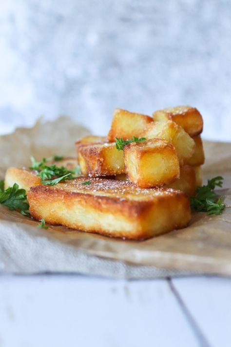 De Bedste Pandestegte Kartofler Sprøde Pandestegte Kartofler