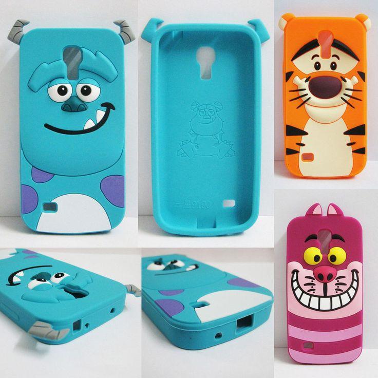 3D Cute Cartoon Tiger Sulley Cat Case Cover For Samsung Galaxy I9190 S4 IV Mini #UnbrandedGeneric