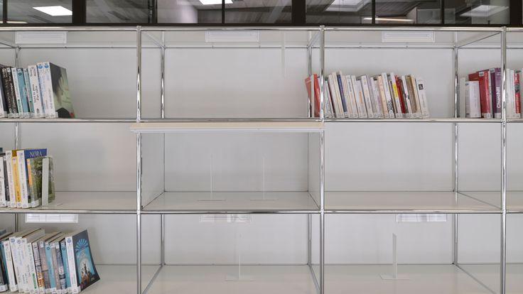 Bueromoebel Metall setzt in jeder Wohn- und Bürolandschaft sowie auf der Gewerbefläche äusserst attraktive Akzente Bibliothek Metall Regale lassen sich beliebig verändern, umgestalten oder erweitern