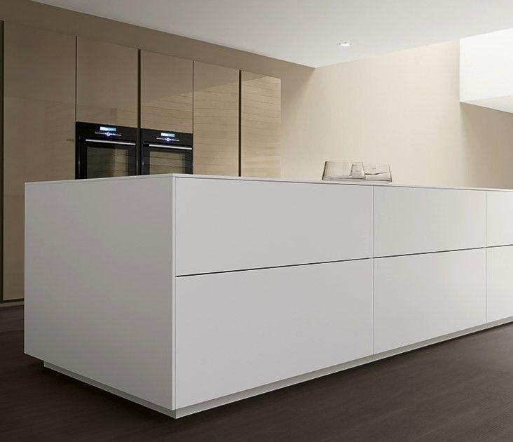 Perfect keukeneiland!  Project Studio | Italiaanse design keukens Comprex - Antwerpen kaaien