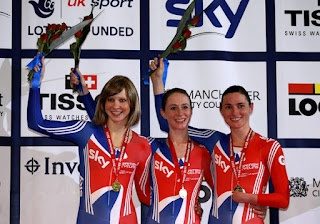 Joanna Rowsell cannot afford to have have an off-day when she's training with Sarah Storey.