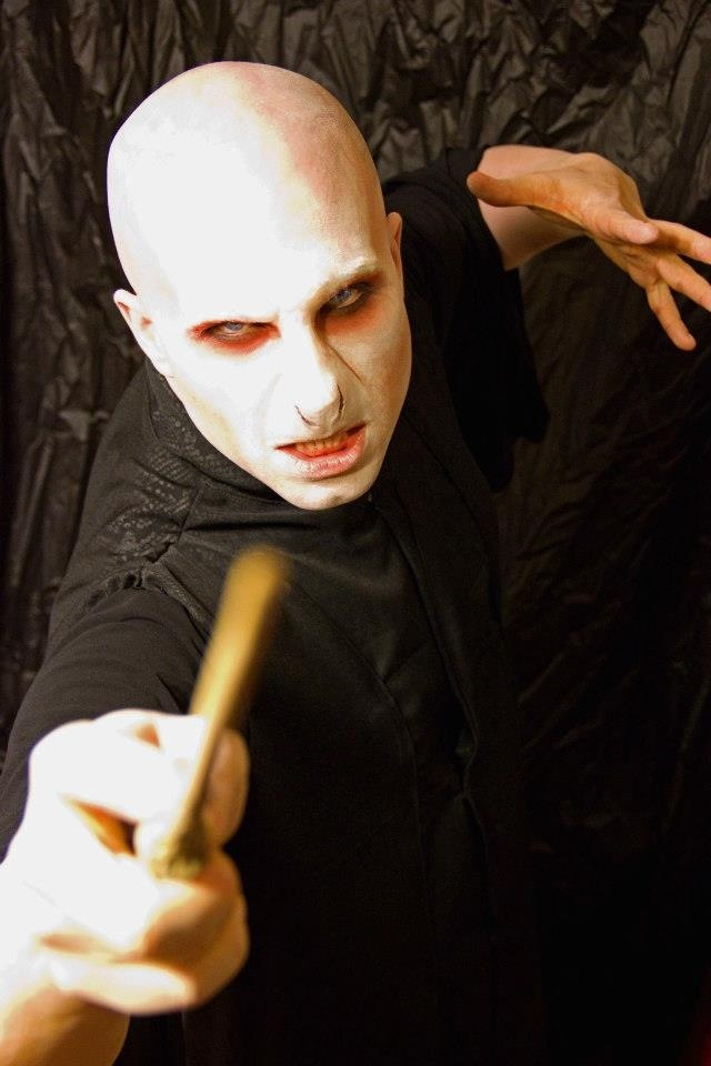 Me as Voldemort  Makeup and costumes by Sydney Lauren Robinson  Facebook: http://www.facebook.com/pages/Sydney-Lauren-Robinson-Makeup-Artistry/  Website:  http://slrmakeup.com