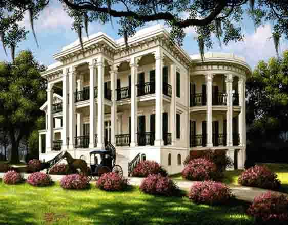Nottoway Plantation located in White Castle, La. between Baton Rouge and New Orleans La. Largest southern antebellum plantation.