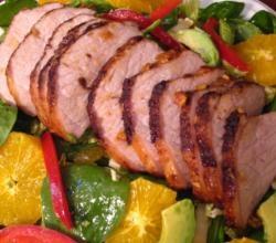 Pork Tenderloin with Dijon Marsala Sauce Recipe Video by Nanascookery ...