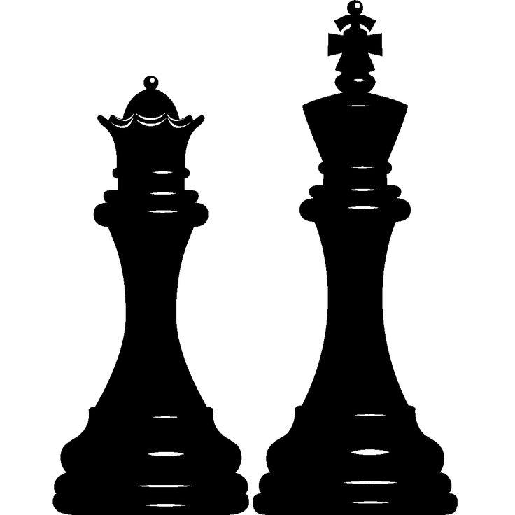 Adesivi murali per bambini - Adesivi Pezzi degli scacchi