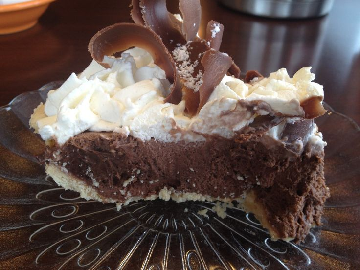 French Silk Pie From Village Inn In Moorhead Minnesota