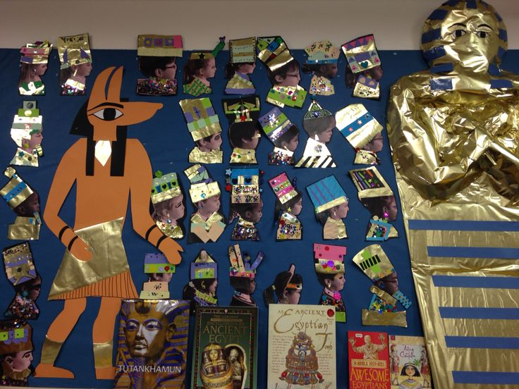 Ancient Egypt display  KS2 History and Art