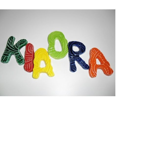 kia ora ceramic word by nz ceramic artists art locker.