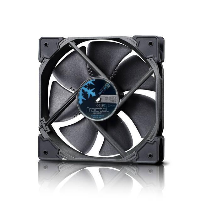 Fractal Design Venturi HP-12 PWM FD-FAN-VENT-HP12-PWM-BK 120mm Case Fan (Black)