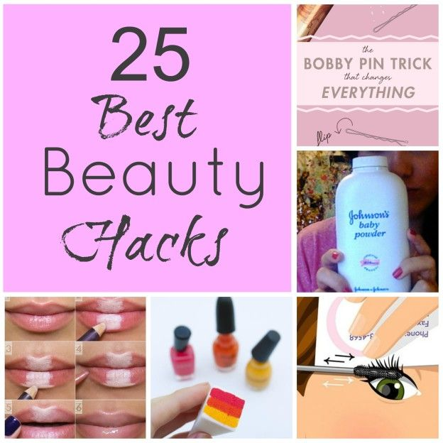 Best beauty hacks and tips 6 days