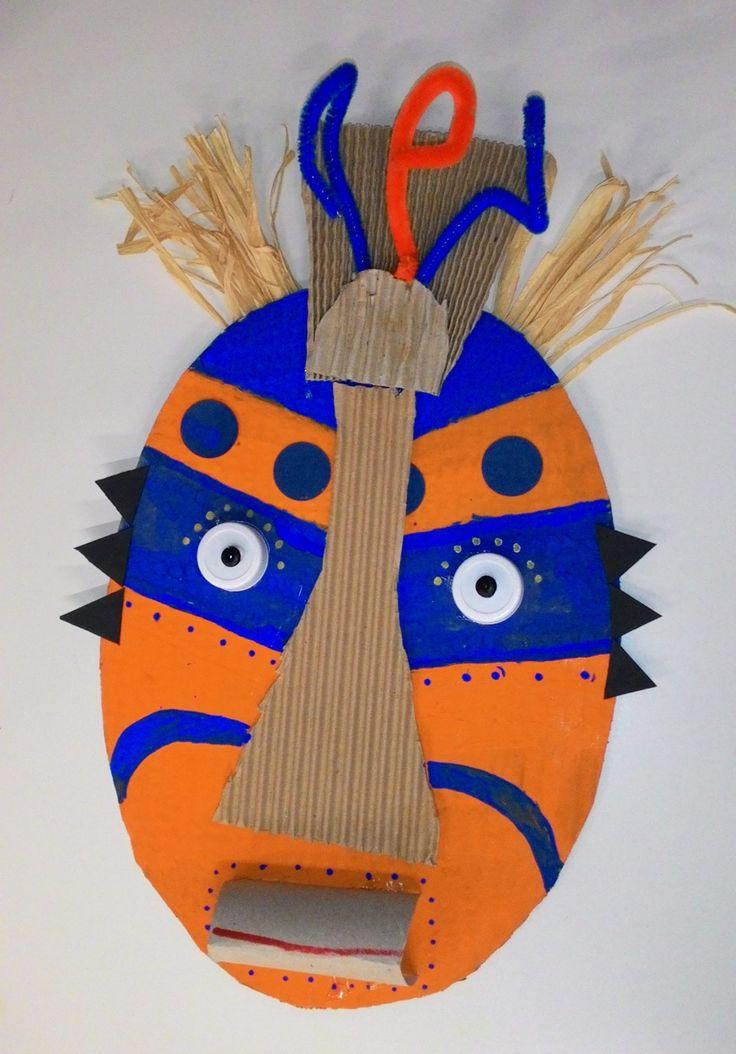 Maschera africana