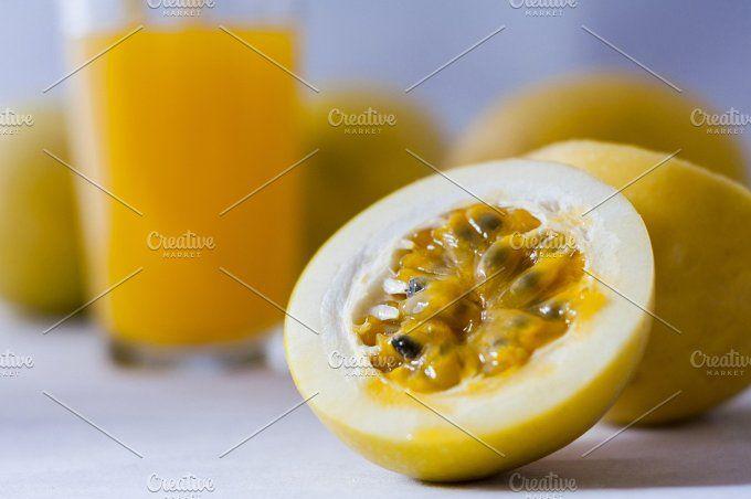 Passion fruit by REBECAZUM on @creativemarket