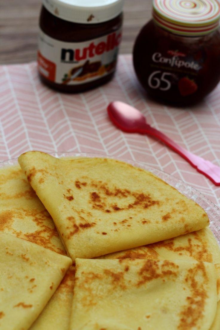 Crêpes au yaourt (légères)