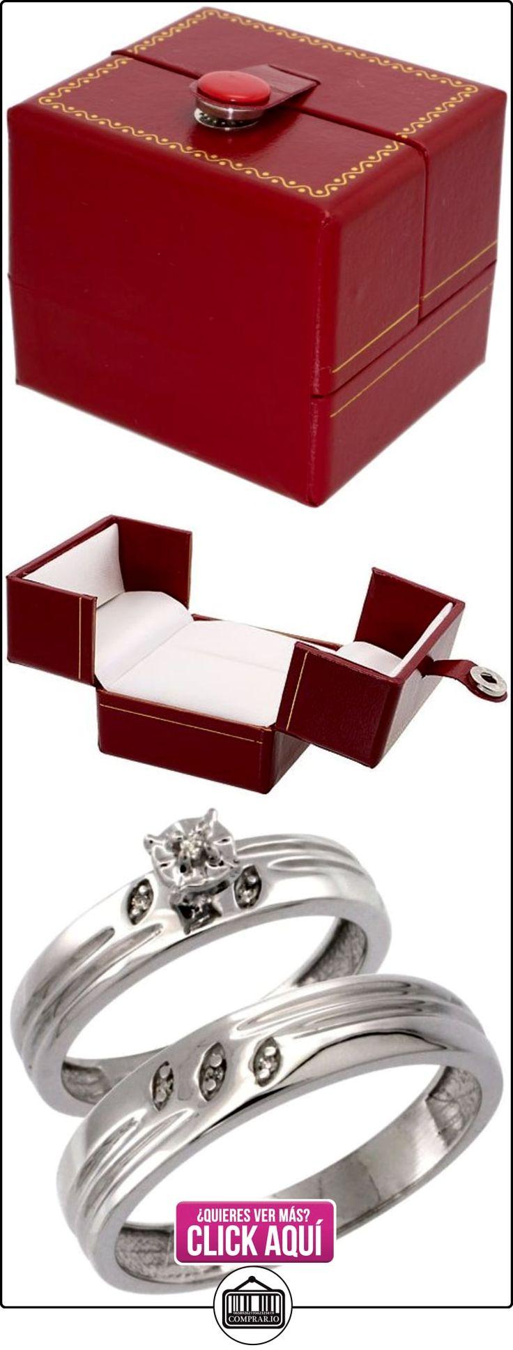 Revoni - Anillo de compromiso de oro blanco  ✿ Joyas para hombres especiales - lujo ✿ ▬► Ver oferta: http://comprar.io/goto/B005NWCL7K