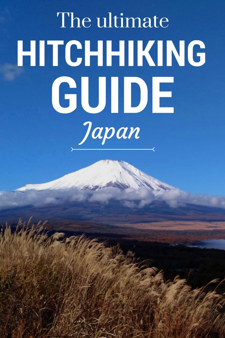 The best hitchhiking tips to Japan. Read how we hitchhiked over 1.300 kilometers in Japan! #hitchhiking #japan #budgettravel