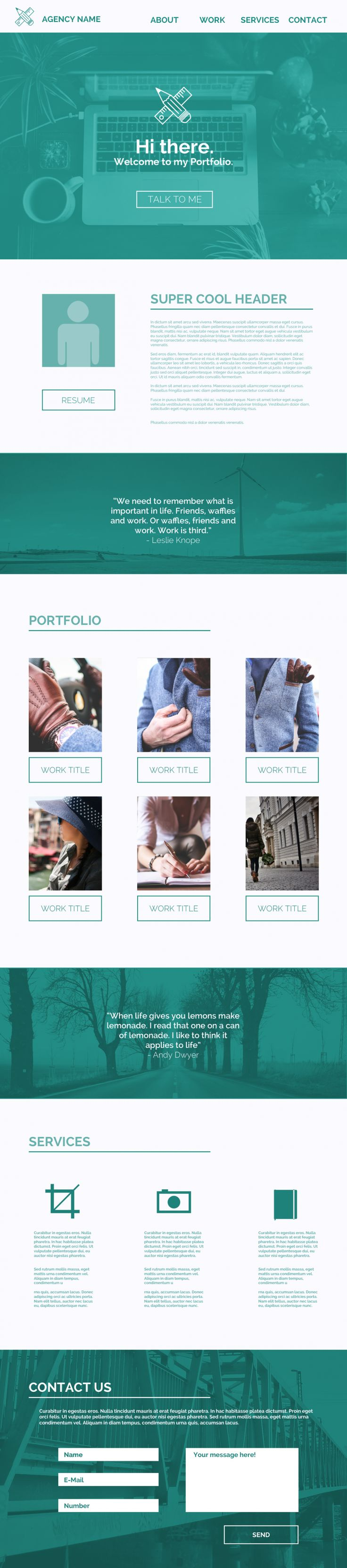 best images about resume cv and interview tips one page website template psd