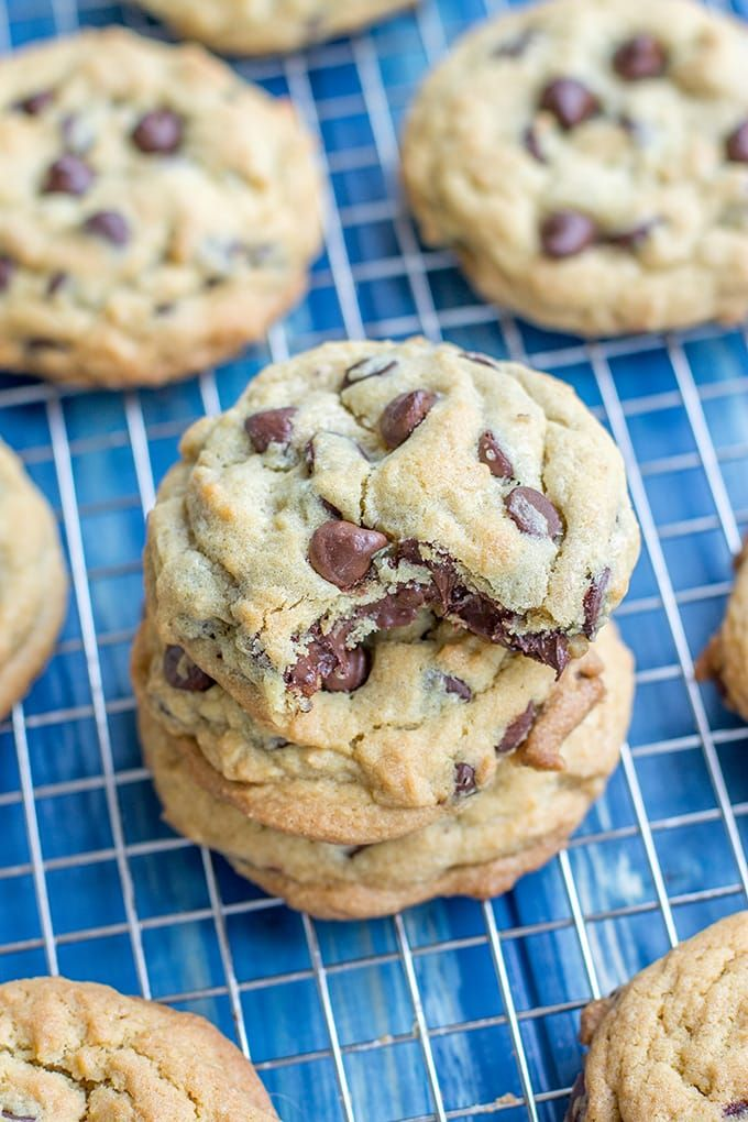 Stay Soft Chocolate Chip Cookies Recipe Cookies Recipes Chocolate Chip Chewy Chocolate Chip Cookies Soft Chocolate Chip Cookies