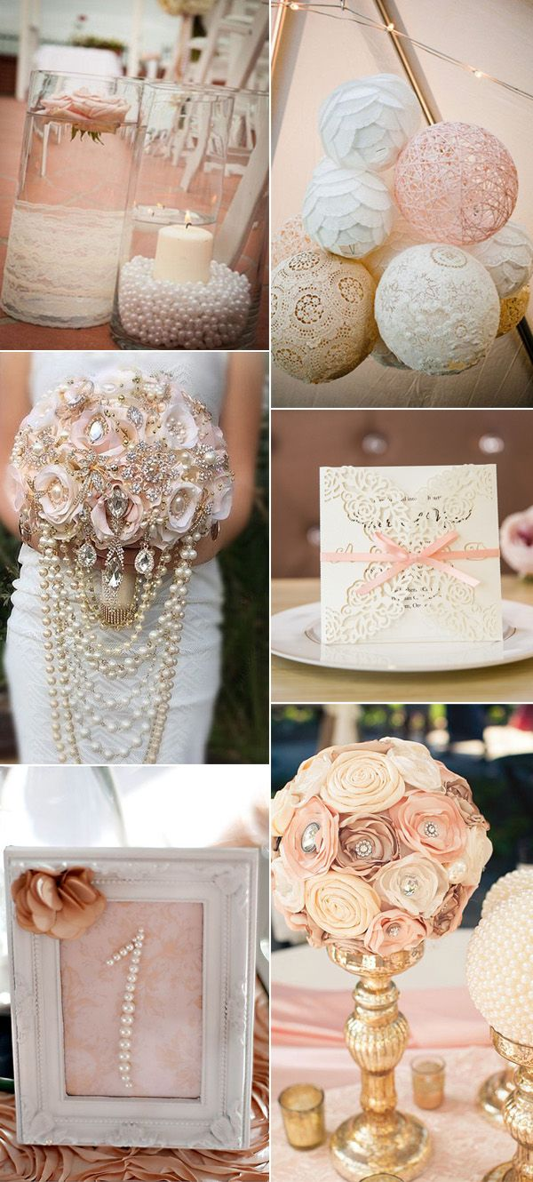 blush pink wedding color ideas for 2017