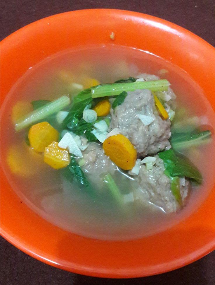 meatball soup 😋