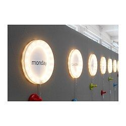 LJUSNING Moldura c/iluminação LED - IKEA