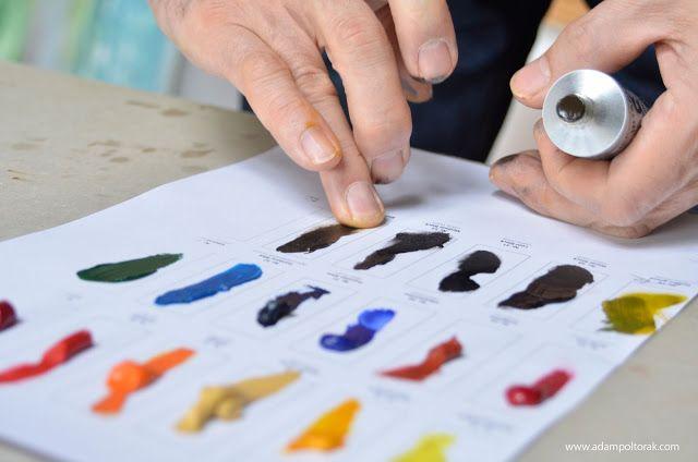 Atelier Adam Poltorak: Farba