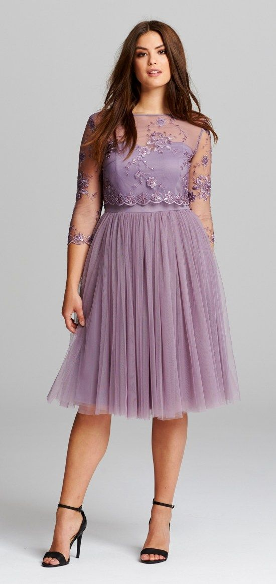 45 Plus Size Wedding Guest Dresses With Sleeves Fashion