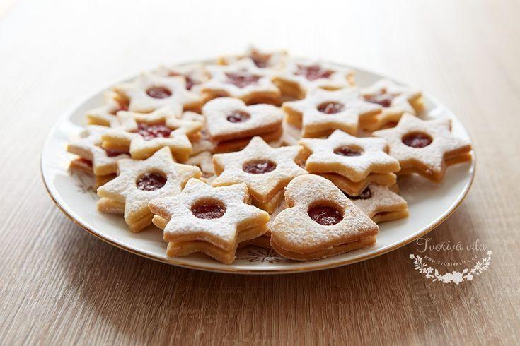 České tradiční linecké cukroví