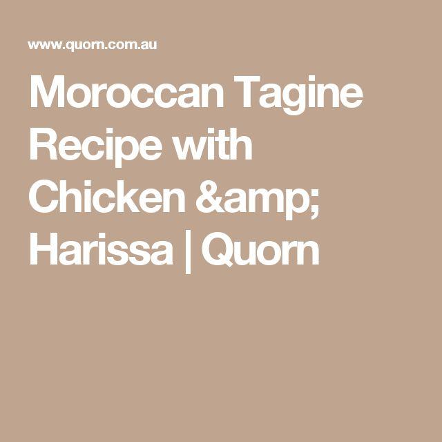 Moroccan Tagine Recipe with Chicken & Harissa   Quorn